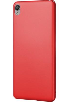 Microsonic Sony Xperia XA Klıf Slim Fit Rubber + Nano Cam