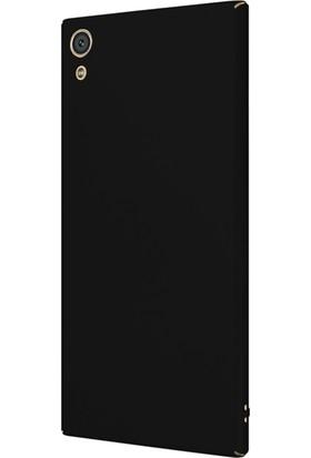 Microsonic Sony Xperia XA1 Ultra Kılıf Slim Fit Rubber + Nano Cam