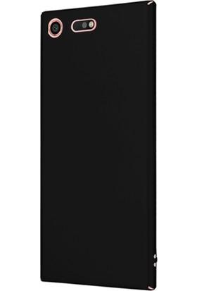 Microsonic Sony Xperia XZ Premium Kılıf Slim Fit Rubber + Nano Cam