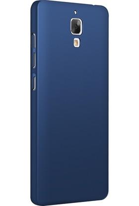 Microsonic Xiaomi Mi 4 Kılıf Slim Fit Rubber + Nano Cam