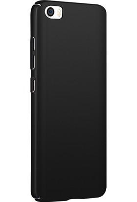 Microsonic Xiaomi Mi 5 Prime Kılıf Slim Fit Rubber + Nano Cam