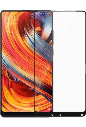 Microsonic Xiaomi Mi Mix 2 Tam Kaplayan Temperli Cam Ekran koruyucu Film