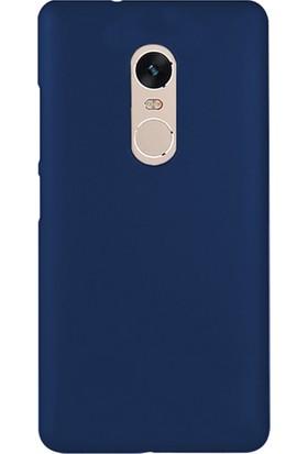 Microsonic Xiaomi Redmi Note 4X Kılıf Slim Fit Rubber + Nano Cam