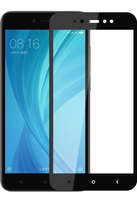 Microsonic Xiaomi Redmi Note 5A Prime Tam Kaplayan Temperli Cam Ekran koruyucu Film