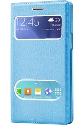 Microsonic Samsung Galaxy J7 Core Kılıf Dual View Gizli Mıknatıslı