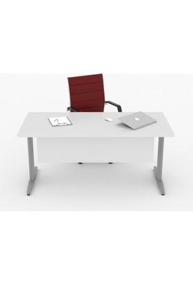 Tefrishop Ordos 140 Ofis Masa (Beyaz)