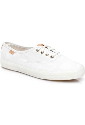 Keds Champion Kadın Beyaz Sneaker Wf56394
