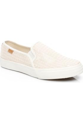 Keds Double Kadın Krem Sneaker Wf56498