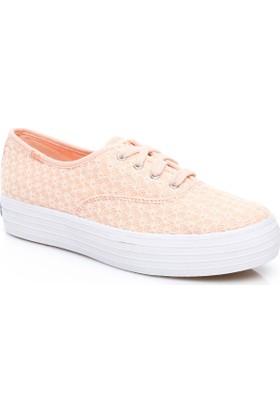 Keds Triple Kadın Pembe Sneaker Wf56507