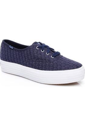 Keds Triple Kadın Lacivert Sneaker Wf56508