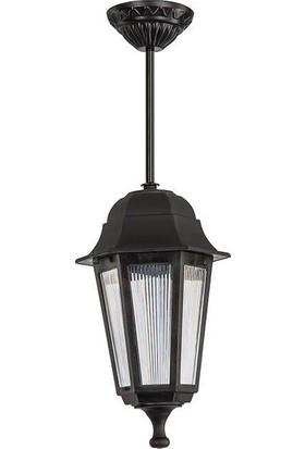 Modelight Optik Siyah Dış Mekan Lambası 30 cm
