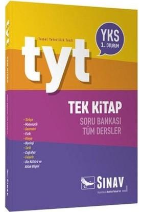 Sınav Tyt Tek Kitap Tüm Dersler Soru Bankası