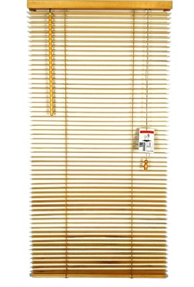 Craft Blinds 25 mm Ahşap Jaluzi Perde - Naturel Çam
