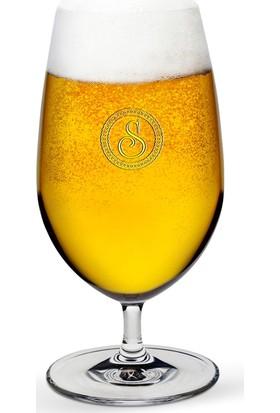 Leydi Collection Kişiye Özel Vintage Bira Bardağı