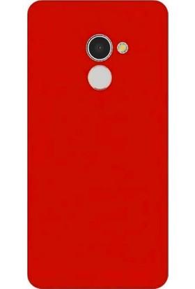 Coverzone Alcatel A3 Kılıf Slim Fit Silikon + Temperli Ekran Koruyucu