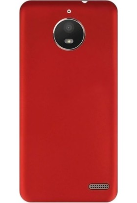 Coverzone Motorola Moto E4 Kılıf Silikon Soft Premier + Ekran Koruyucu Cam