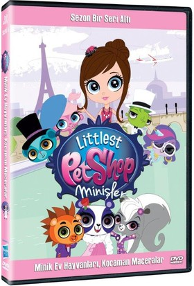 Littlest Pet Shop - Sezon 01 Seri 06 Dvd