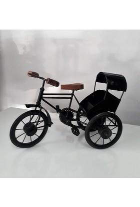 İkizler Dekoratif Metal Bisiklet