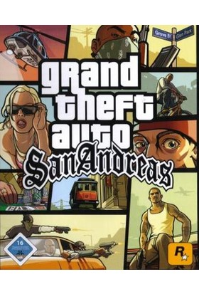 Grand Theft Auto: San Andreas Dijital Pc Oyunu