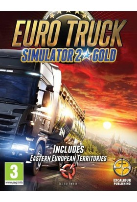 Euro Truck Simulator 2 (Gold Edition) Dijital Pc Oyunu