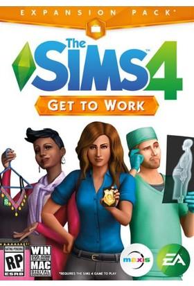 The Sims 4: Get To Work Dijital Pc Oyunu
