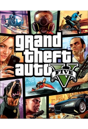 Grand Theft Auto V Gta Dijital Pc Oyunu