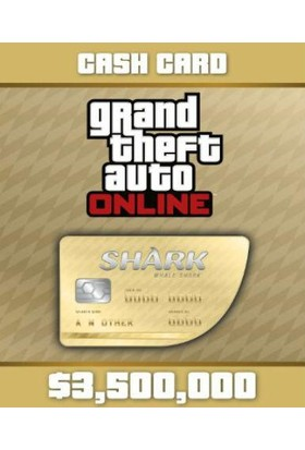 Grand Theft Auto V Gta: Whale Shark Cash Card Dijital Kod / E-Pin