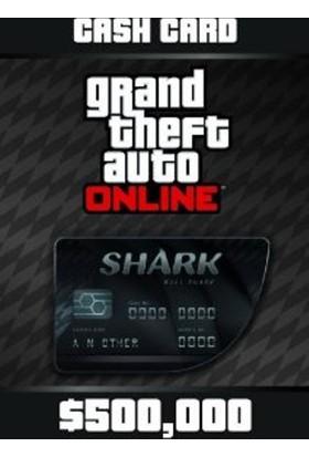 Grand Theft Auto V GTA: Bull Shark Cash Card