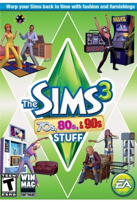 The Sims™ 3: 70s 80s & 90s Stuff pack