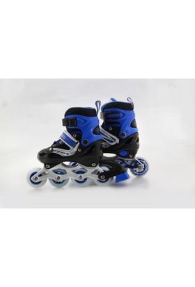 Roller Master Çubuklu Paten 35 - 38 Mavi