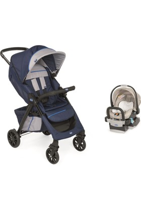 Chicco Duo Kwik One Travel Sistem Bebek Arabası / Lacivert