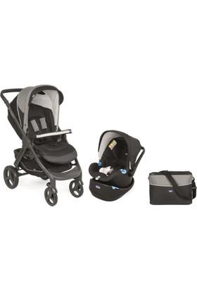 Chicco Duo Style Go Up Travel Sistem Bebek Arabası / Siyah