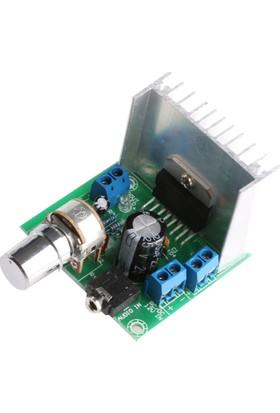 Robotekno Ses Yükseltici Amfi Devresi TDA7297 15W Çift Kanal 12V Amplifier
