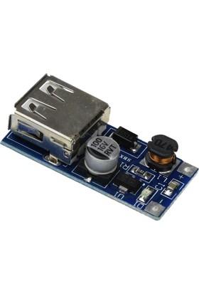 Robotekno Step Up USB Voltaj Yükseltici Boost Converter Voltaj Regülatör 5V
