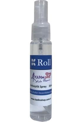 Roll Dermaroller 30 Ml Dezenfektan Sprey (Derma Roller Ve Dermapen Cihazları)