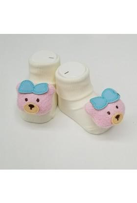 Baby By Bumbo Papyonlu Ayı Bebek Çorap