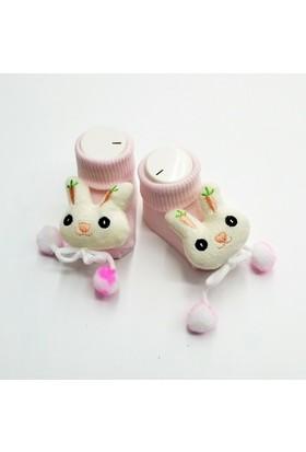 Baby By Bumbo Ponponlu Tavşan Bebek Çorap
