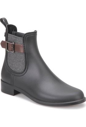 Igor W10158-Z03 Siyah Kadın Yağmur Çizmesi