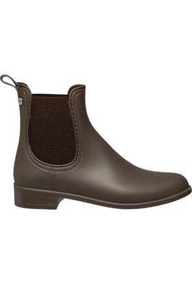Igor W10166-N34 Kahverengi Kadın Yağmur Çizmesi
