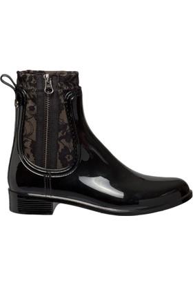 Igor W10170-Z03 Siyah Kadın Yağmur Çizmesi