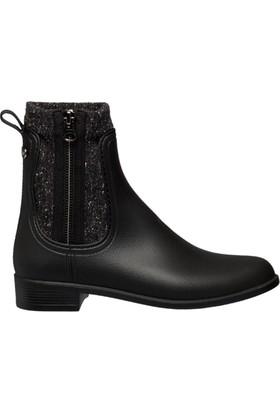 Igor W10171-002 Siyah Kadın Yağmur Çizmesi