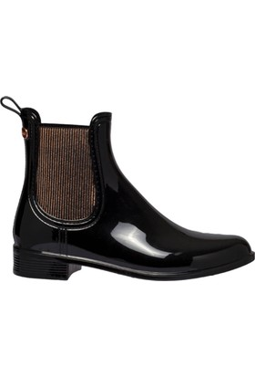 Igor W10174-Ig08 Siyah Kadın Yağmur Çizmesi