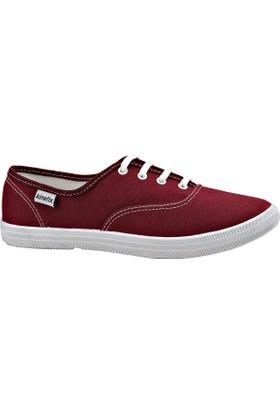 Kinetix 1233119 Bordo Kadın Sneaker