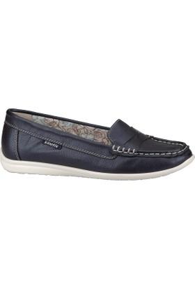 Kinetix 1241066 Lacivert Beyaz Kadın Ayakkabı