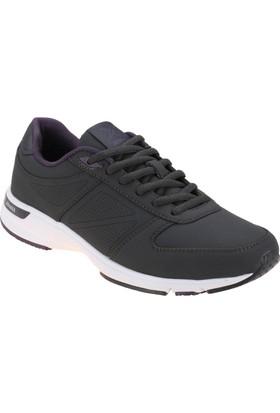 Kinetix 1250993 Antrasit Mor Beyaz Kadın Koşu Ayakkabısı