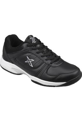 Kinetix 1275230 Siyah Beyaz Erkek Tenis Ayakkabısı