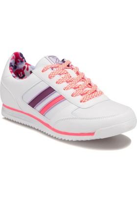 Kinetix A1288310 Beyaz Mor Neon Pembe Kadın Sneaker