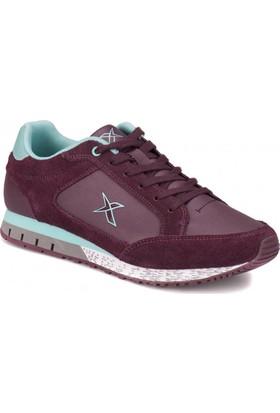 Kinetix A1311107 Mürdüm Açık Yeşil Kadın Sneaker