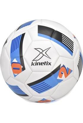 Kinetix Captain Beyaz Siyah Mavi Unisex Futbol Topu