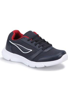Knx A3000012 Lacivert Beyaz Kırmızı Erkek Koşu Ayakkabısı